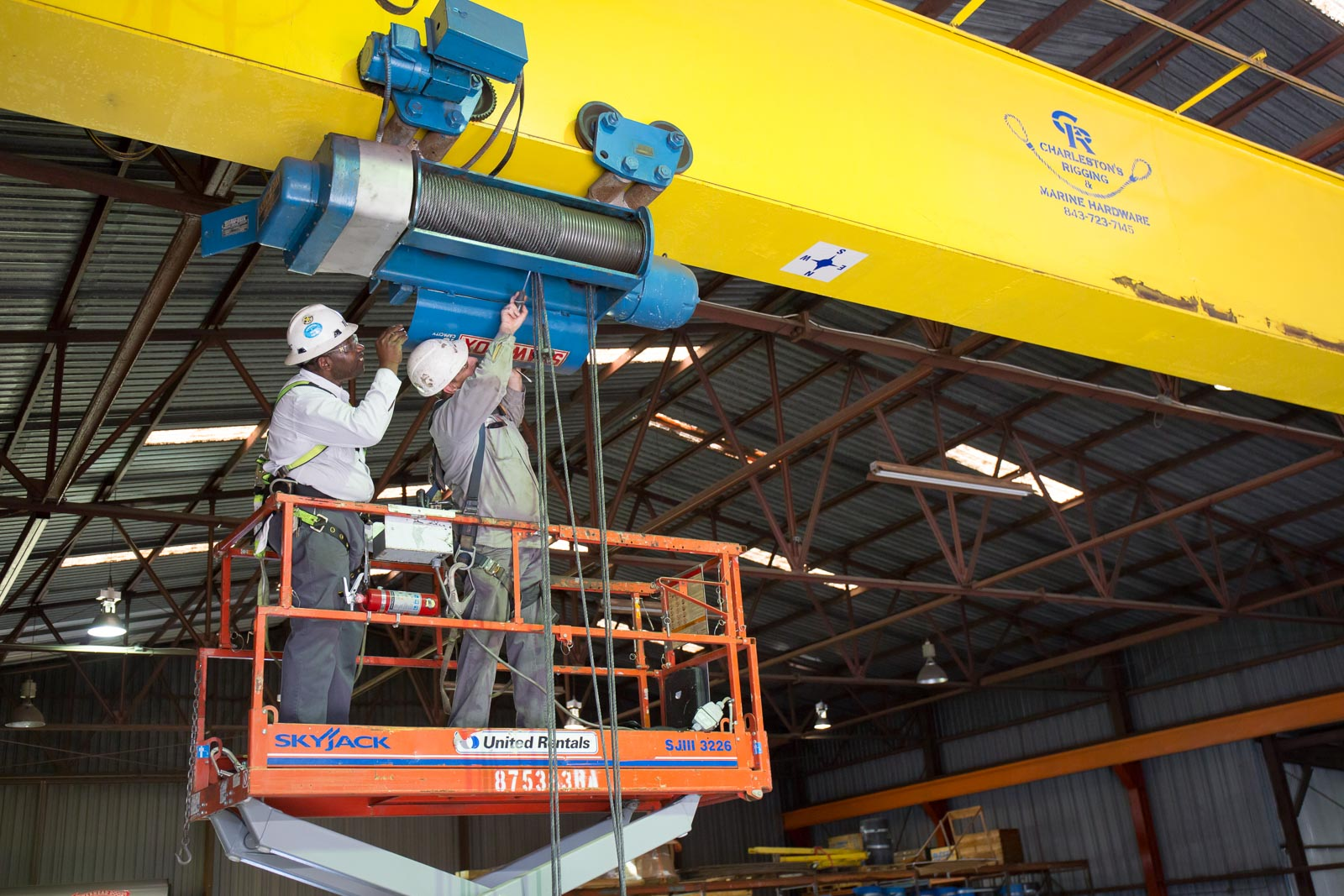 Osha Bridge Crane Inspection : Crane inspection